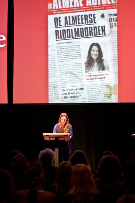 """""""First Lines and Anouk Reading"""" Photo Courtesy of Anouk Kemper"""